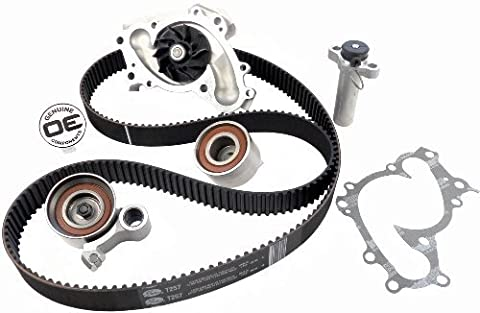 ACDelco TCKWP257 Professional Timing Belt and Water Pump Kit with Idler Pulley and 2 Tensioners by ACDelco