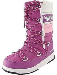 Moon Boot WE Quilted Jr WP 34051500004 Mädchen Winterstiefel