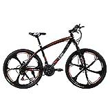 Huoduoduo Fahrrad, Mountainbike, 26 Zoll 27 Speed Doppelscheibenbremse Hoch-Kohlenstoffstahl High-end-geländewagen,Geeignet für Outdoor-Reisen Alpinismus