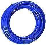 sourcingmap PU línea de aire tubo Acuario Estanque Tubo Tubería Manguera 4mm de diámetro, 6m, color azul
