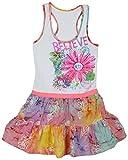 Caribbean Joe Girl's Dress (White And Pi...