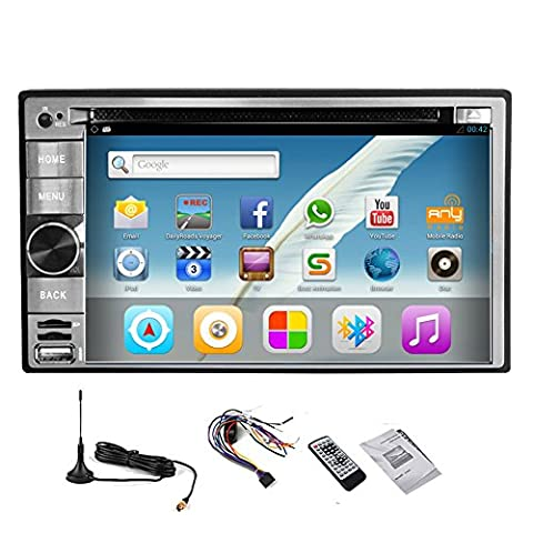 Android 5.1.1 GPS Navi Karte Auto-DVD-Player Video-Receiver Multimedia Autoradio Autozubeh?rstereoanlage Autoradio Audio Universal-2 L?rm CD MP4 FM AM-Empf?nger 4-Core-CPU Digital-TV