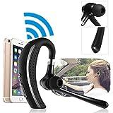 ELEGIANT Drahtlose Bluetooth 4.1 Stereo Telefon Kopfhörer Headset Ohrstöpsel Single-Ear Headset Headphone freihändig für Smarthandy wie iPhone 6 Samsung usw