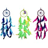 Asian Hobby Crafts Dream Catcher Wall Hanging (3 Pieces)