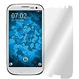 PhoneNatic 4er-Pack Displayschutzfolien klar für Samsung Galaxy S3