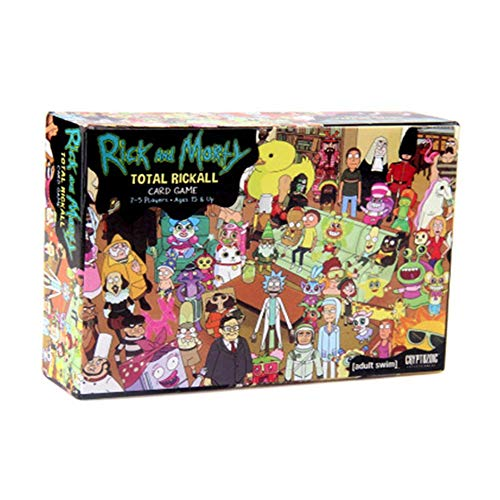LCTCQ Rick und Morty Brettspielkarte Toy New Brain -
