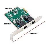 Syba 2Port Ethernet PCIe X 1Karte mit Chips...Vergleich