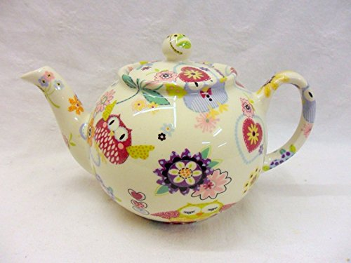 2 Cup Teapot In Owls