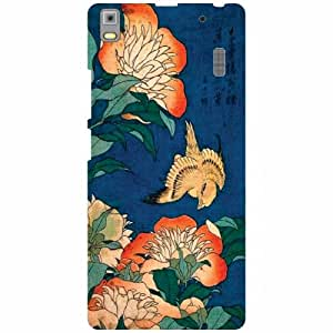 Back Cover For Lenovo K3 Note PA1F0001IN -(Printland)