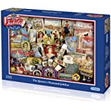 Gibsons The Queen Diamond Jubilee Jigsaw Puzzle (1000 pieces)