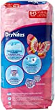 Huggies DryNites Girl hochabsorbierende Pyjamahosen Unterhosen für Mädchen 8-15 Jahre, 3er Pack (3x 9 Windeln) Test