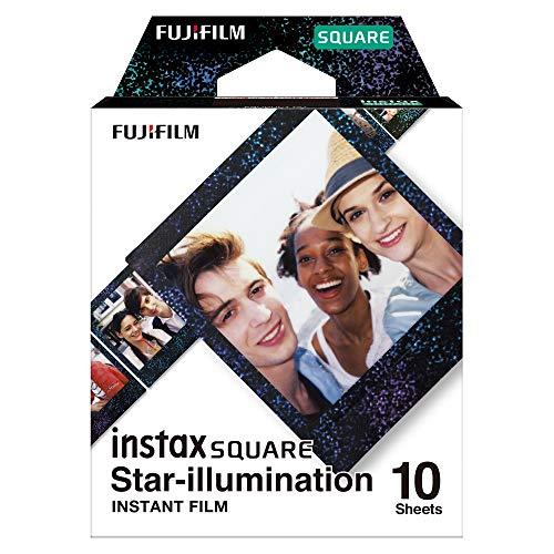 Fujifilm Star Illumination. Cantidad por paquete: 10 pieza(s) Detalles técnicos -Tamaño de película: 86 x 72 mm -Tamaño de imagen: 62 x 62 mm  Contenido del embalaje -Cantidad por paquete: 10 pieza(s)