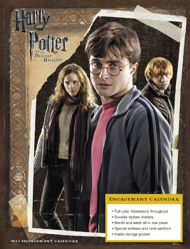 Click for larger image of Harry Potter and the Deathly Hallows 2011 Calendar