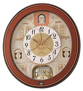 Seiko Wood Melodies in Motion Clock (47.3 cm x 43.5 cm x 10.6 cm)