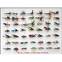 36/mayflies Wasser Tight Deckel gute fr/ühen Saison Fliegen Box troutflies Snap