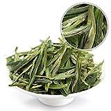 GOARTEA 250g (8.8 Oz) Organic Anji Bai Cha Long Jing White Dragon Well Loose Spring Leaf Chinese GREEN TEA Tee