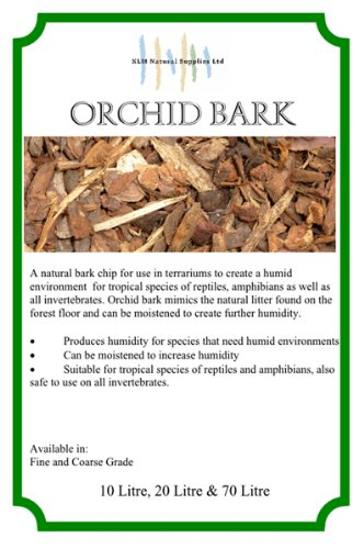 70L Fine Orchid Bark for reptiles snakes lizards iguana 1