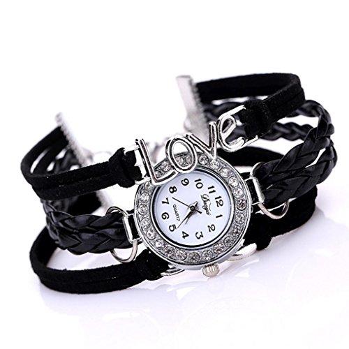 Sunnywill Frauen Mädchen Damen Schöne Mode Design Luxus Anhänger Uhren für Weibliche