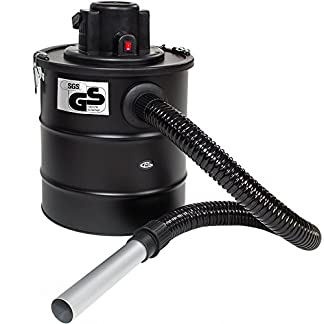 TecTake Aspirador de cenizas 20 litros 1200 vatios Filtro de Repuesto Lavable // con SGS-certificado – varios modelos – (Aspirador de cenizas + 1 filtro   no. 400930)