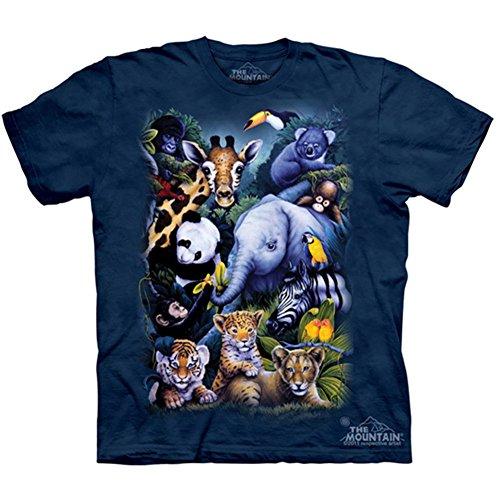 A Rare Occasion / Wildtierkinder - Kinder T-Shirts von The Mountain Blau