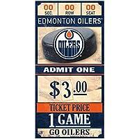 Wincraft Edmonton Oilers NHL Ticket Schild