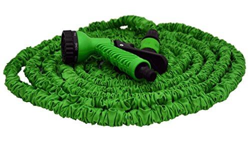 """Gartenschlauch: Flexi-Expanderschlauch 1/2"""" 7,5 - 22,5 m mit Sprühdüse"""