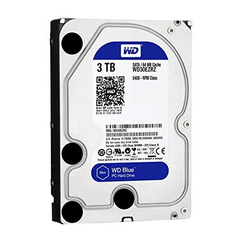 WD Blue WD30EZRZ 3 TB Interne Festplatte (8,9 cm (3,5 Zoll), SATA 6 Gb/s (bulk)) - 2