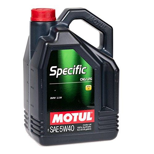 Olio motore MOTUL 101719specifiche Metano/Gpl 5W-40olio motore 5