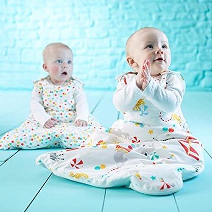 515dpQRnwfL. SS416  - Grobag Pack de 2 Sacos para dormir bebé 1.0/2.5 tog, Multicolor,