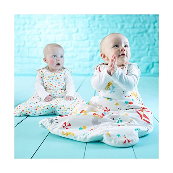 Grobag Pack de 2 Sacos para dormir bebé 1.0/2.5 tog, Multicolor,