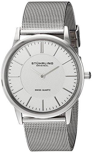 Stuhrling Original Herren-Armbanduhr Man Newberry Dress Symphony Ascot Analog Quarz 238.32112
