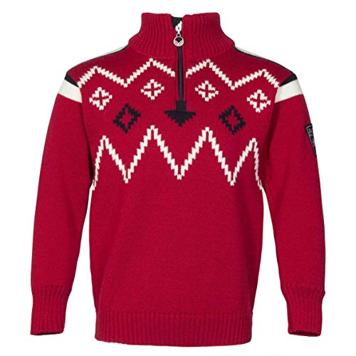 Dale of Norway Kinder Seefeld Pullover, rot, 8 Jahre -