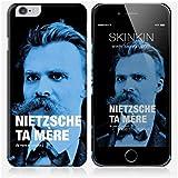 Coque iPhone 6 Plus et 6S Plus de chez Skinkin - Design original : Nietzsche par Fists et Lettres