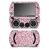 'DISAGU sf-531p 14232_ 1224Design protection d'écran pour Sony PSP Go Motif 'Motif coloré 01Clair