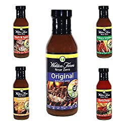 Walden Farms Almost Zero Calorie Perfect Barbecue Sauces Bundle