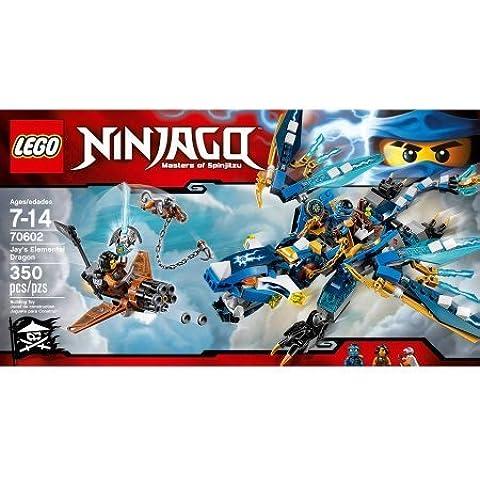 350 Pieces LEGO Ninjago Jay's Elemental Dragon Model# 70602 by LEGO