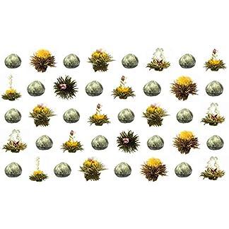 40-Stck-Sonderangebot-schwarzer-Tee-TeeblumenTeerosenTeebltenblooming-teaErblhteeAufblhtee-aus-hochwertigem-Schwarztee-mit-natrlichen-eingearbeiteten-Blten-by-Feelino