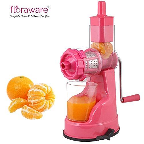 Floraware Plastic Fruit and Vegetable Juicer, Red