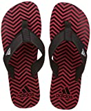 Adidas Men's Inert M Scarle/Black/White Flip-Flops and House Slippers - 10 UK/India (44 1/2 EU)