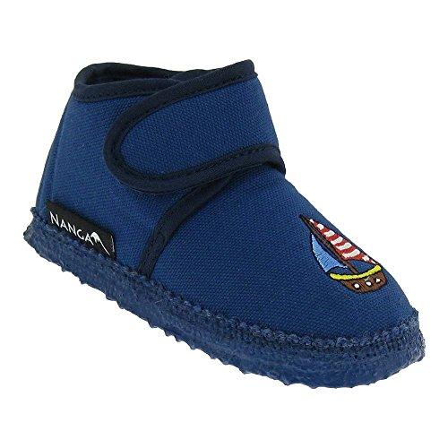 GALLUX - Kinderschuhe Hausschuhe Kinder Pantoffeln Blau