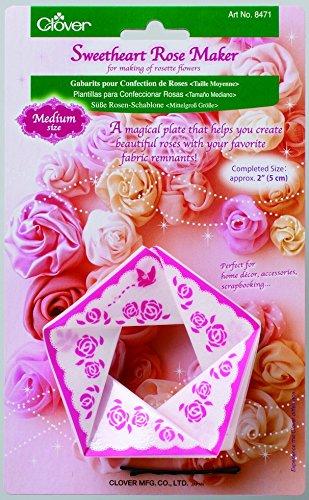 Clover Sweetheart Rose Maker, Rosen Bastelset, Medium
