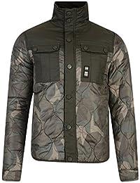 Crosshatch Men's Claythorpe Panelle Quilted Jacket