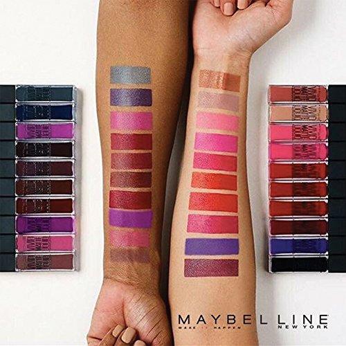 Maybelline New York Vivid Matte Liquid Rossetto Liquido Matte Vellutato, 05 Nude Flush