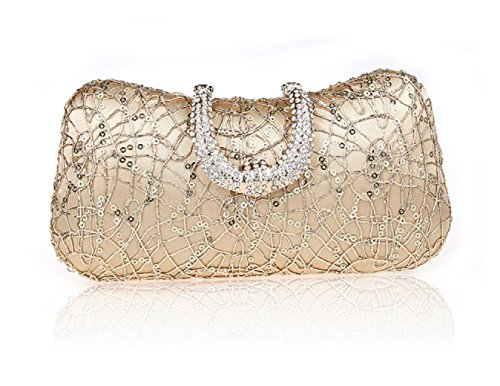 Strass fibbia borse/ borsa da sera moda/Party clutch bag-A A
