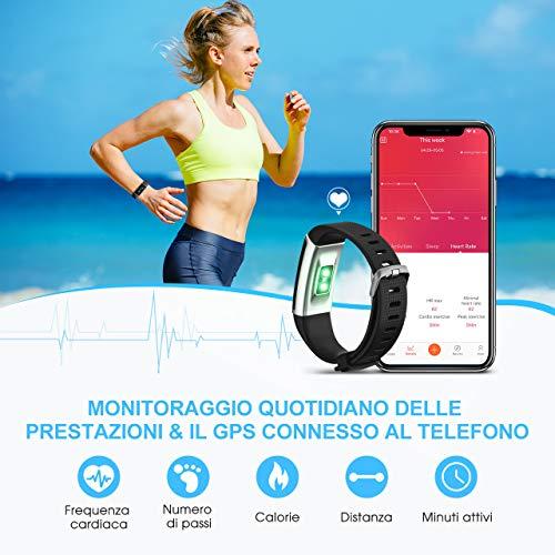 Zoom IMG-1 mpow fitness tracker ip68 orologio