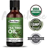 Tea Tree Oil 100% Pure,Best Therapeutic Grade Essential Oil From Aromatique (USDA Certified Organic)-30ml