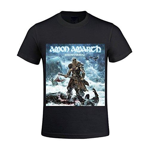 amon amarth jomsviking Men T Shirts Crew Neck 100 Cotton