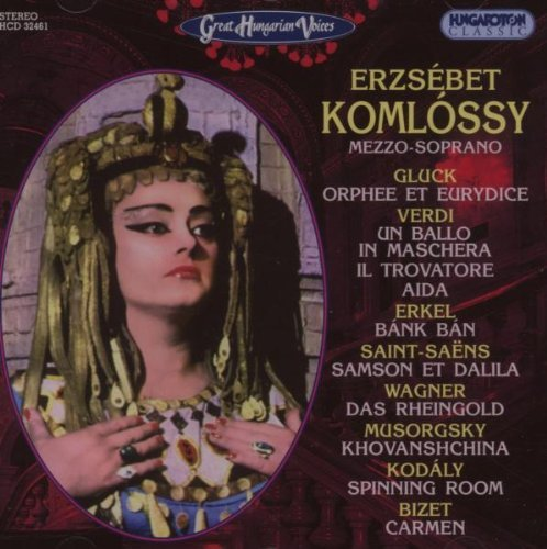 Great Hungarian Voices - Erzsebet Komlossy by Zoltan Kodaly (2007-03-22)