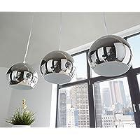 Amazon Fr Suspension Bar Lampe Cuisine Chrome Luminaires