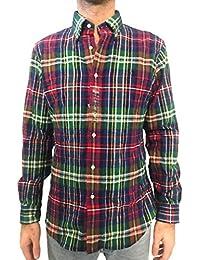 design di qualità 69db3 2229b Amazon.it: camicia uomo ralph lauren - A quadri: Abbigliamento